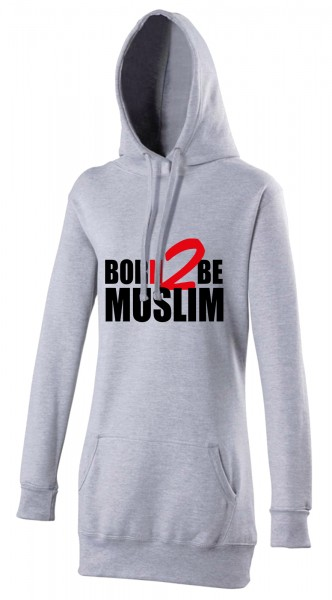 Born 2 be Muslim Halal-Wear women's Hijab hoodie
