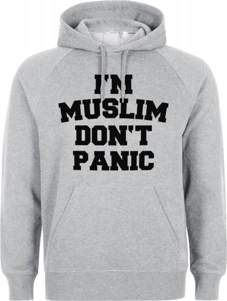 I am Muslim dont panic Halal-Wear Kapuzenpullover Sweatshirt Hoody