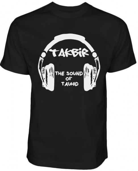 TAKBIR the sound of tauhid HALAL Wear T-Shirt