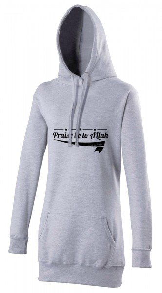 Praise be to Allah Lord of the Worlds Halal-Wear women's Hijab hoodie