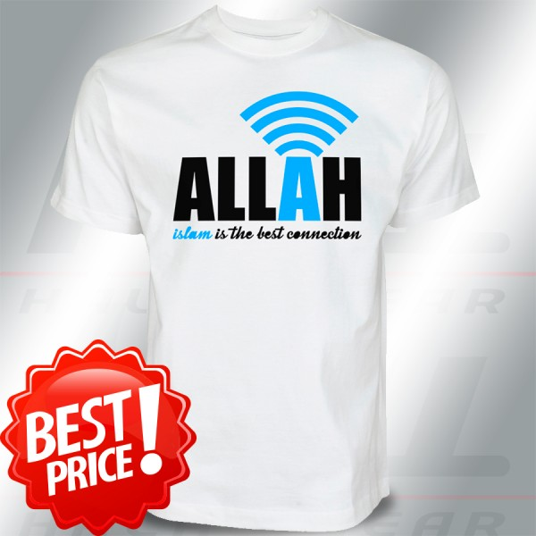 Islam is the best Connection to Allah Islamische Kleidung T-Shirt