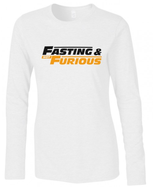 Fasting and Furious Halal-Wear women Langarm T-Shirt