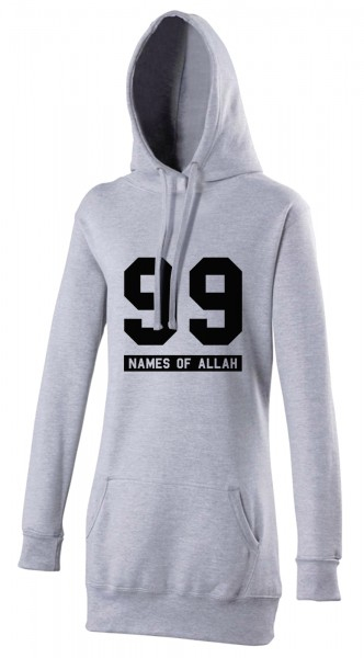 99 Names of Allah Halal-Wear women's Hijab hoodie