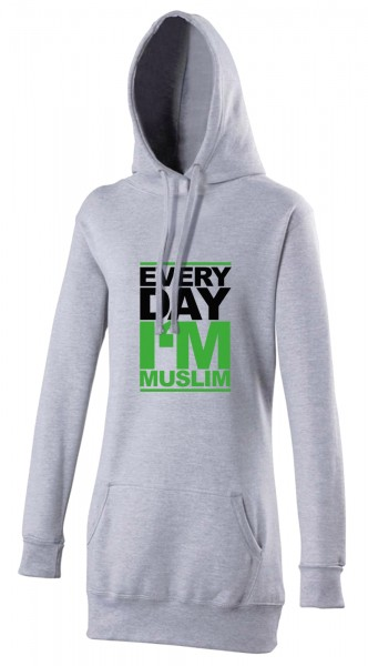 Every day i am Muslim Halal-Wear women's Hijab hoodie