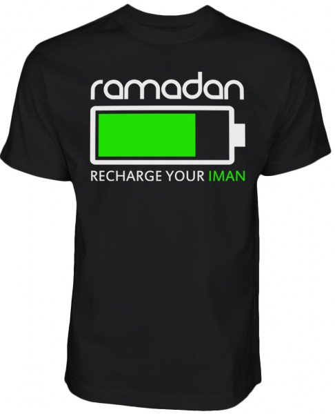 Ramadan - Recharge your Iman - Islam T-Shirt Halal-Wear