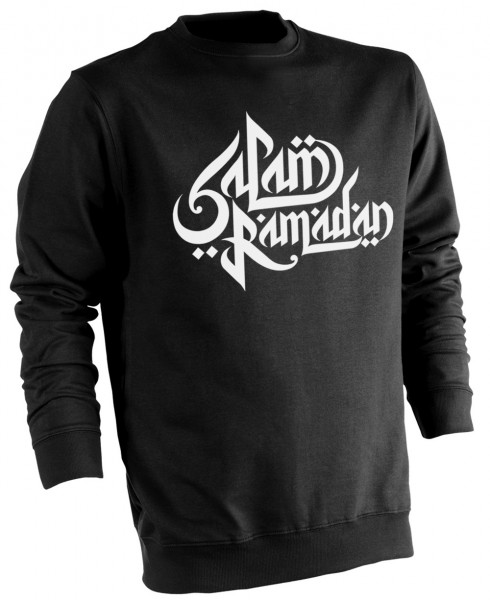 Ramadan Karim Arabische Kalligraphie HALAL Wear Pullover