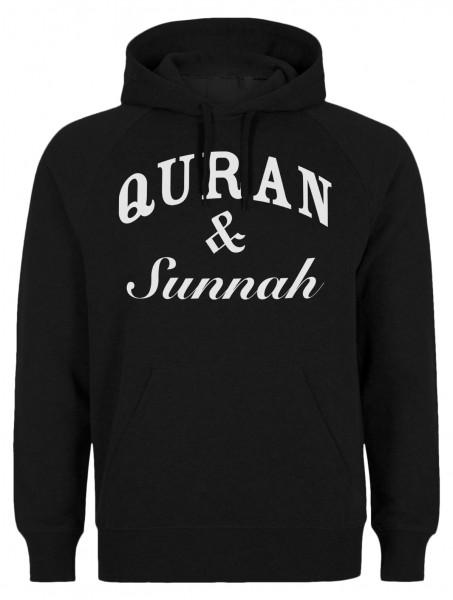 Quran & Sunnah Halal-Wear Kapuzenpullover Sweatshirt Hoody