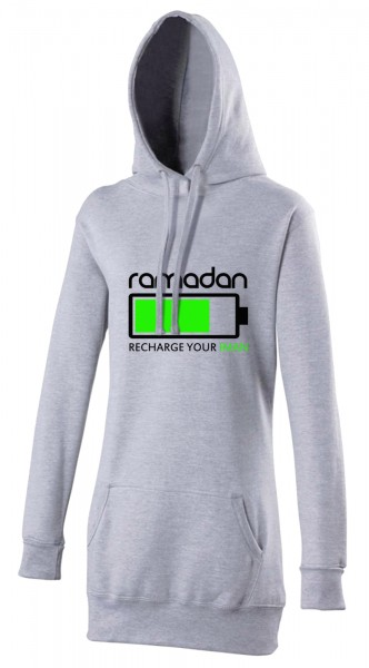 Ramadan - Recharge your Iman Halal-Wear women's Hijab hoodie