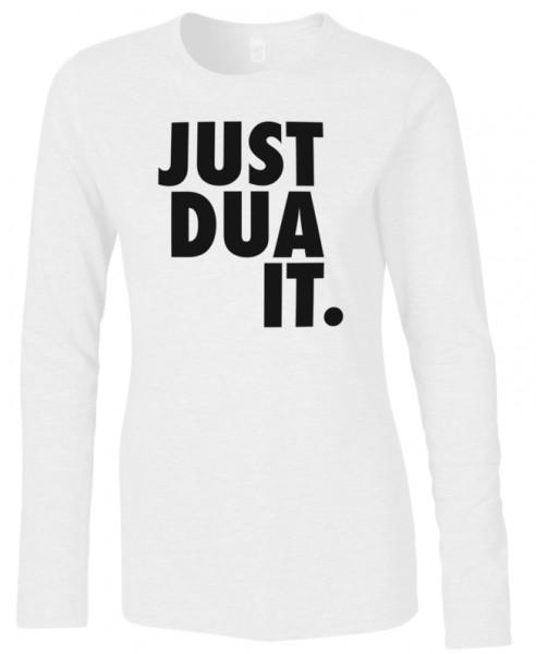 Just Dua It Halal-Wear women Langarm T-Shirt