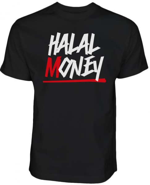 Halal Money - Islam T-Shirt Halal Wear