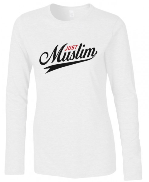 Just Muslim Halal-Wear women Langarm T-Shirt