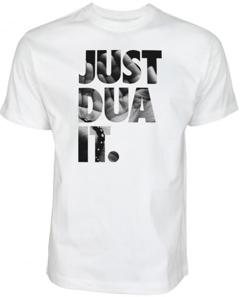 Shirt_Weiss_Just_Dua_It_Hand565240a98b4ef