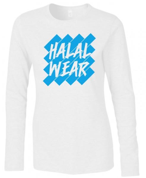 Halal-Wear women Langarm T-Shirt