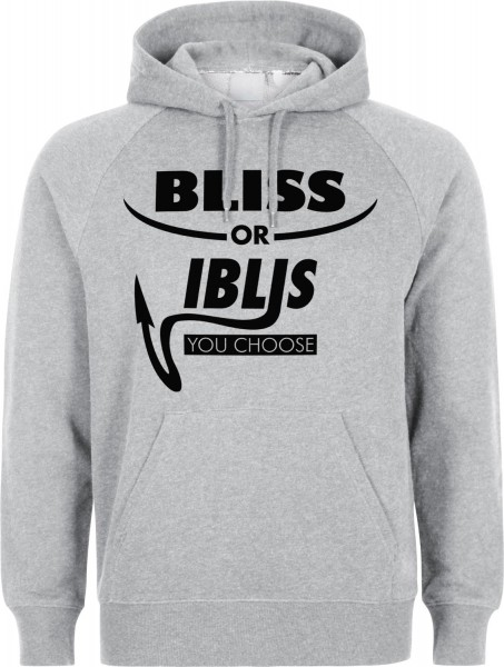 Bliss or Iblis Halal-Wear Kapuzenpullover Sweatshirt Hoody