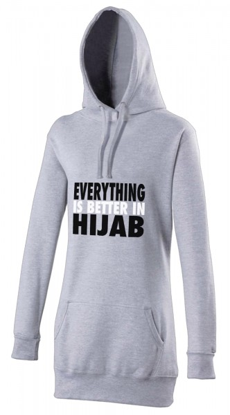 Everything is better in Hijab Halal-Wear women's Hijab hoodie