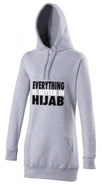 Everything is better in Hijab Halal-Wear women's Hijab hoodie