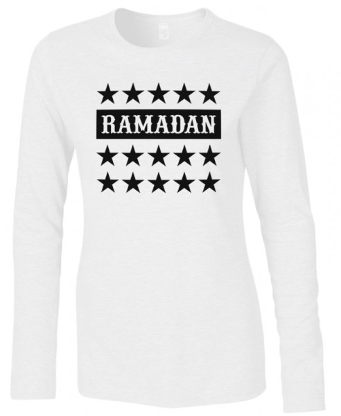 Ramadan Halal-Wear women Langarm T-Shirt