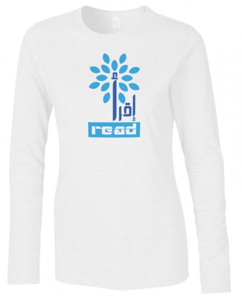 Iqra - Read the Quran  Halal-Wear women Langarm T-Shirt