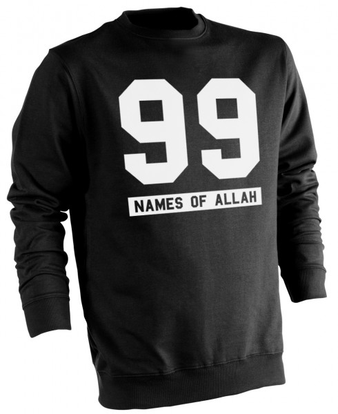 99 Names of Allah - Muslim Halal Wear Pullover