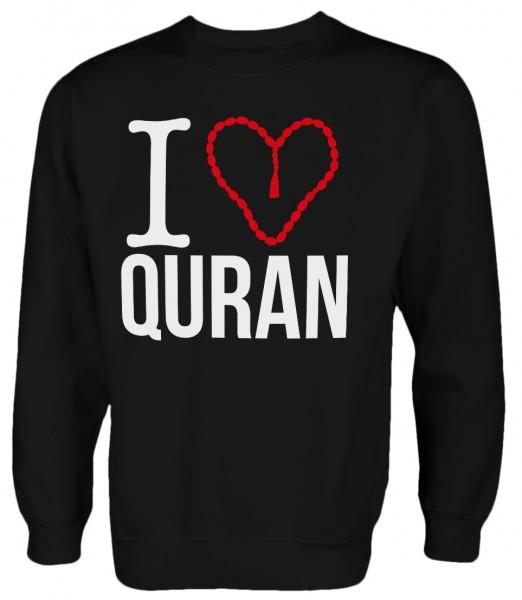 I love Quran Halal Wear Islamische Kleidung Islam Pullover Muslim Pulli