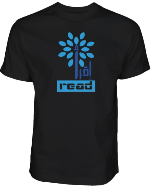 Iqra Read The Quran T-Shirt White Halal Wear