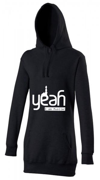 Yeah i am Muslim Halal-Wear Women's Hijab Hoodie
