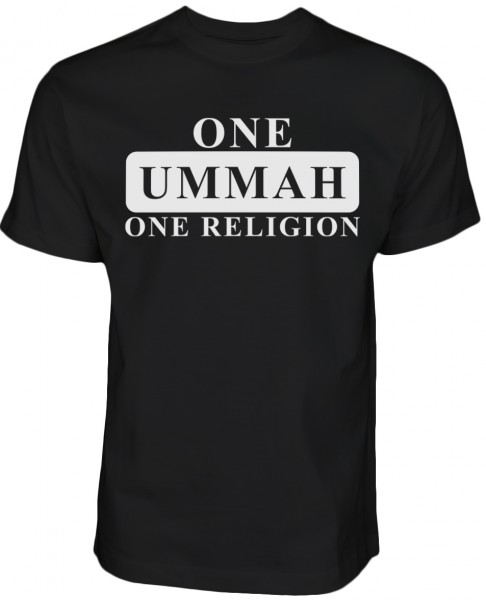 One Ummah - one Religion - Halal-Wear T-Shirt