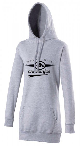 Quran Sura Al-Kauthar so pray to thy lord and sacrifice Halal-Wear women's Hijab hoodie