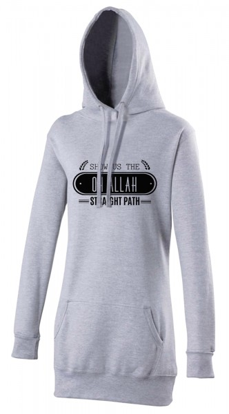Oh Allah Show us the straight Path Halal-Wear women's Hijab hoodie