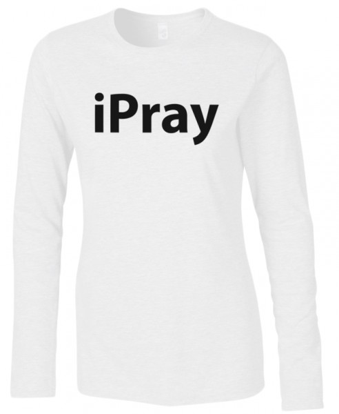ipray Halal-Wear women Langarm T-Shirt