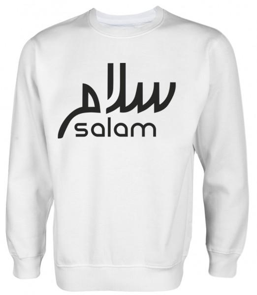 Salam arabische Kalligraphie  - Muslim Halal Wear Pullover