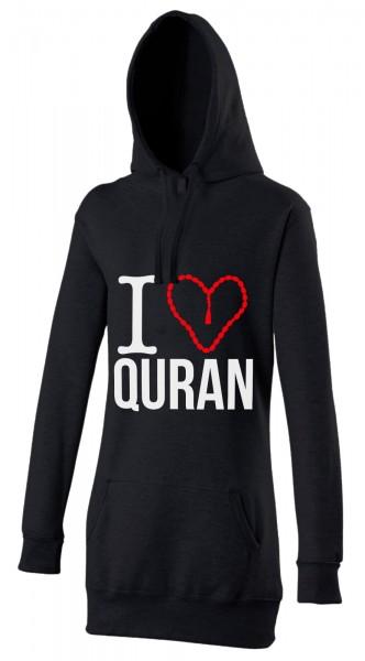 I love Quran Halal-Wear Women's Hijab Hoodie