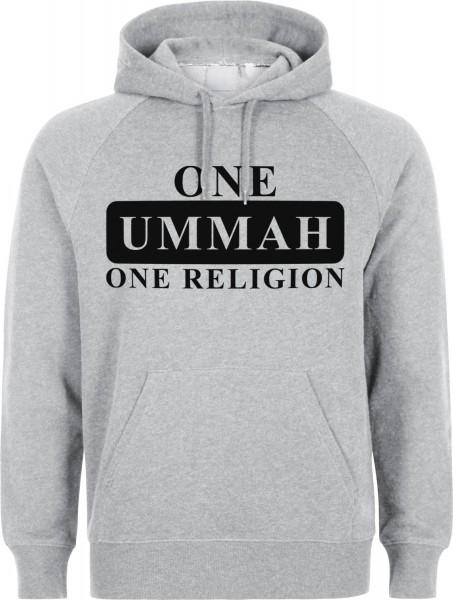 One Ummah One Religion Halal-Wear Kapuzenpullover Sweatshirt Hoody