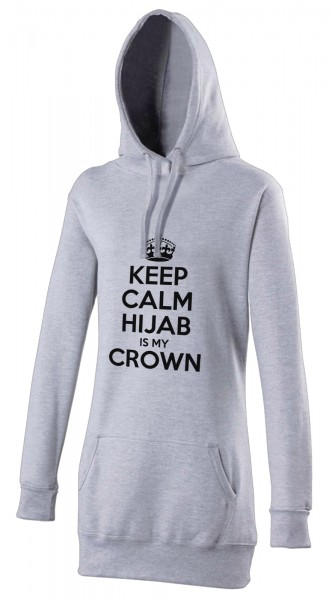 CEEP CALM Hijab is my crown Halal-Wear women's Hijab hoodie