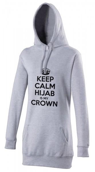 CEEP CALM Hijab is my crown Halal-Wear women's Hijab hoodie