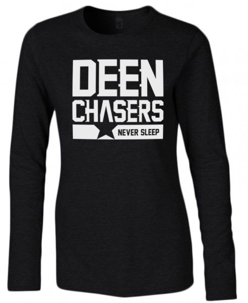 Deen Chasers never sleep Halal-Wear Women Langarm Shirt