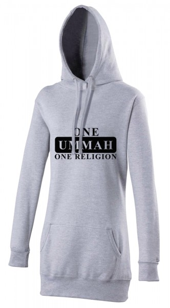 One Ummah One Religion  Halal-Wear women's Hijab hoodie
