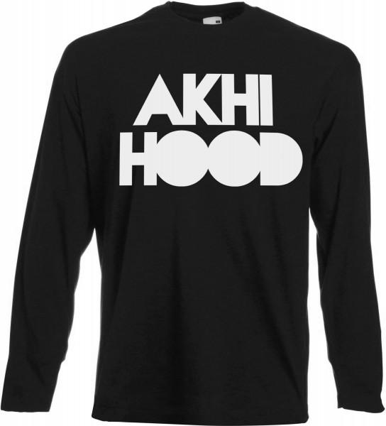 AKHI HOOD - Langarm T-Shirt - Muslim Halal Wear