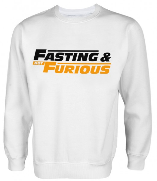Fasting and NOT Furious Ramadan HALAL Wear PulloverFasting and NOT Furious Ramadan HALAL Wear Pullover