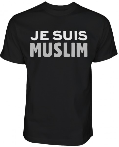 je suis muslim - Halal-Wear  T-Shirt Black