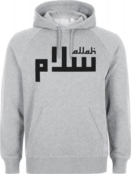 Allah Lines Halal-Wear Kapuzenpullover Sweatshirt Hoody