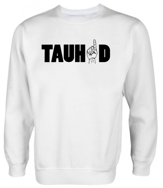 TAUHID Herren Pullover - God is One Tauhid Islam Pulli