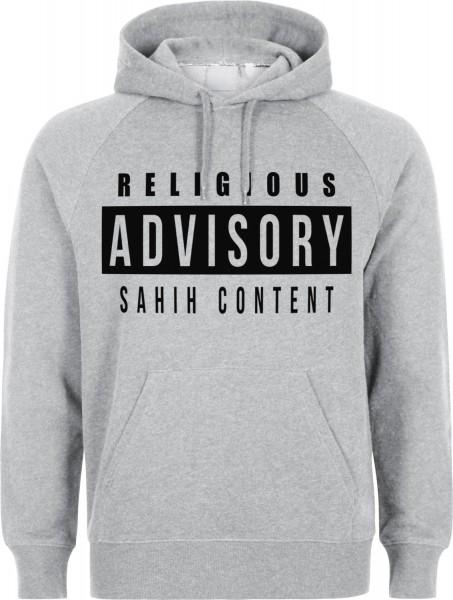 Religious Advisory Sahih Content Halal-Wear Kapuzenpullover Sweatshirt Hoody