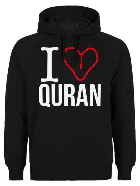 I love Quran HALAL Wear Islamische Kleidung Islam Hoodie Muslim Hoody Kapuzenpulli
