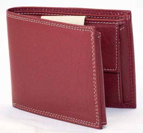 Herren Geldbörse Vieenzo Büffel Leder Geldbeutel Portemonnaie Brieftasche Portmonee