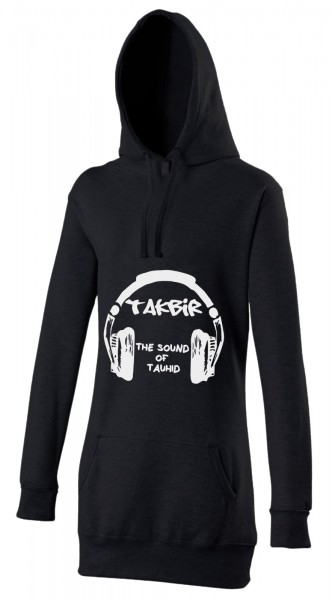 Takbir the sound of Tauhid Halal-Wear Women's Hijab Hoodie