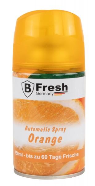 Orange Luftfrischer für Automatische Duftspender -250ml nachfüllflasche raumduft nachfüllen
