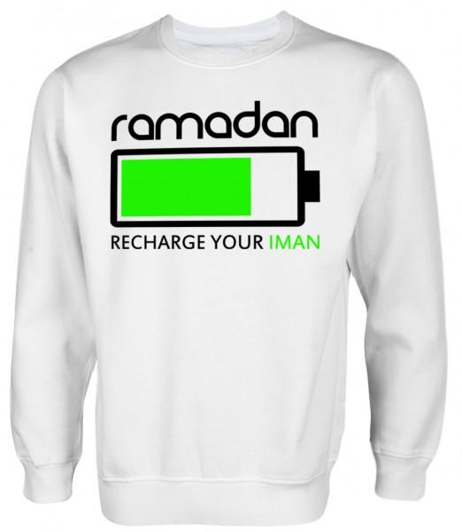 Ramadan - Recharge your Iman - Muslim Halal Wear Pullover