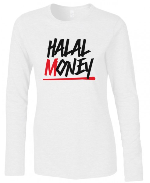 Halal Money Halal-Wear women Langarm T-Shirt