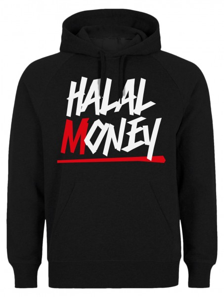 Halal Money Halal-Wear Kapuzenpullover Sweatshirt Hoody